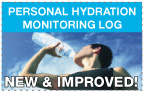NEW & IMPROVED! Personal Hydration Monitoring Log